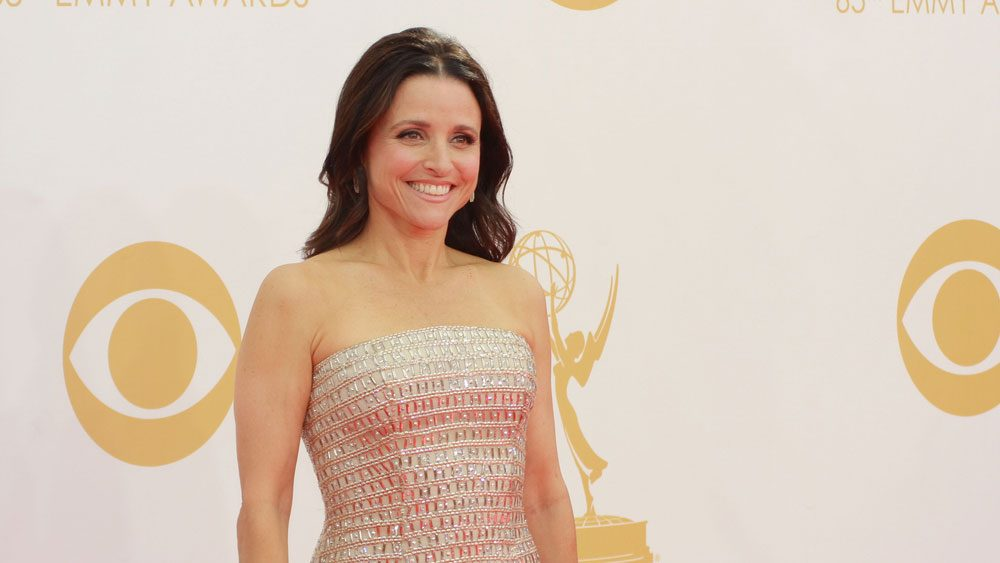 Celebrities with breast cancer Julia Louis-Dreyfus