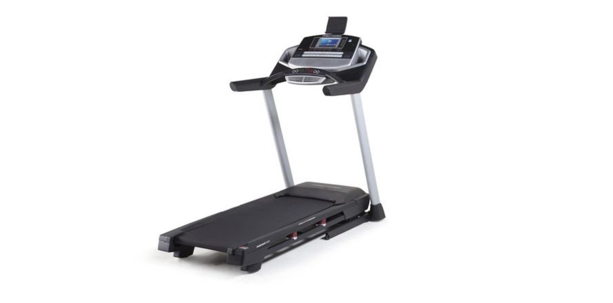 cyber Monday at Walmart, treadmill shown