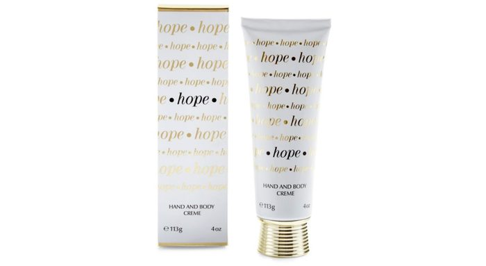 Giving Tuesday Charity Gifts Hope Hand Cream