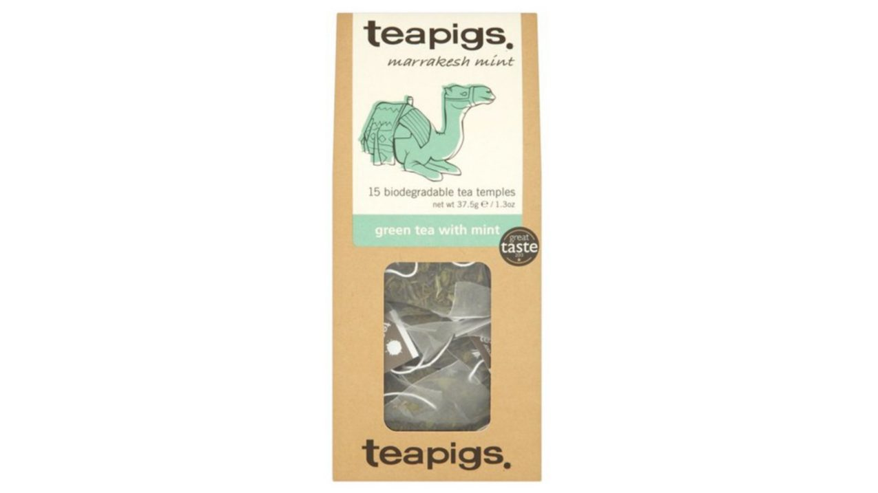 Giving Tuesday Charity Gifts Teapigs Green Tea With Mint