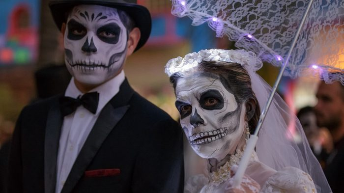 Halloween, day of the dead