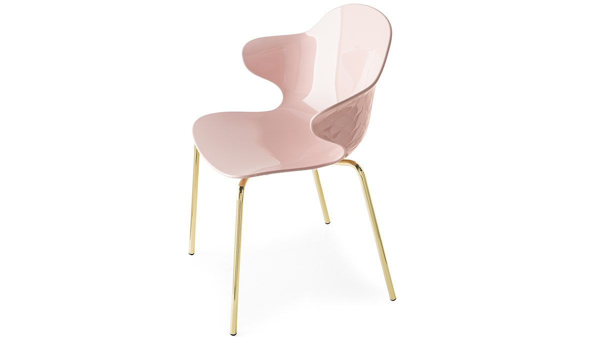Rethink Breast Cancer Calligaris-Toronto-Saint Tropez Chair