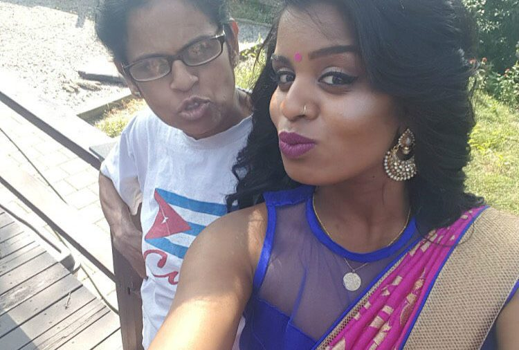 Sangeethaa Siva and her mother