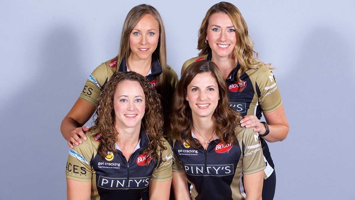 Team Canada Curling Rachel Homan, Emma Miskew, Joanne Courtney and Lisa Weagle.jpg