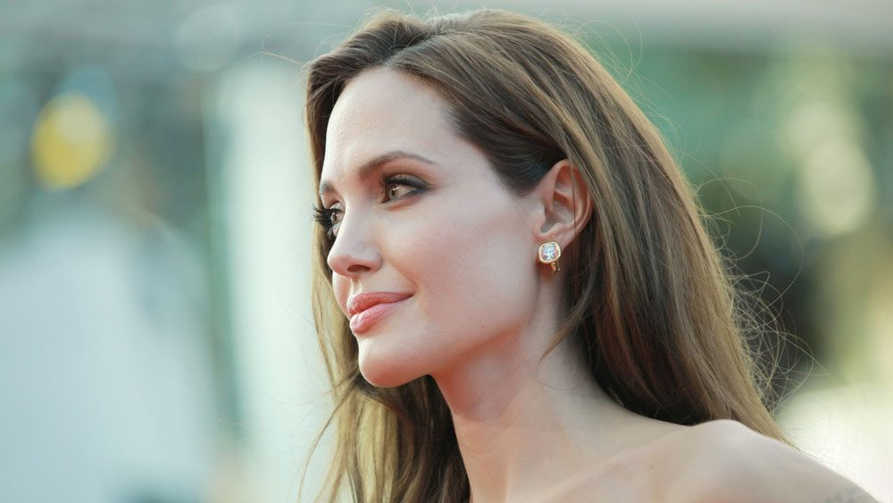celebrities with breast cancer Angelina Jolie