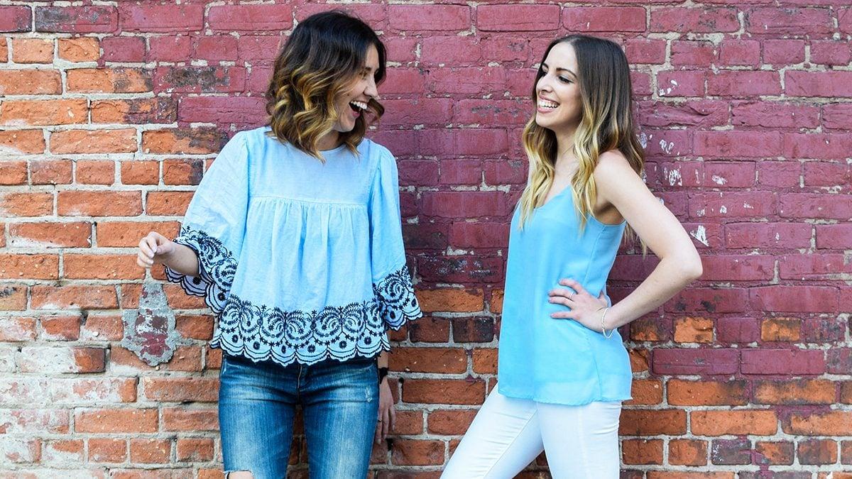 Rachel Hunt and Becka Crowe of Gluten-Free Girlfriends podcast