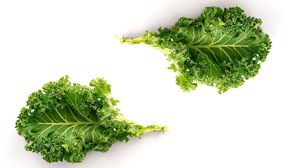 healthiest vegetables kale