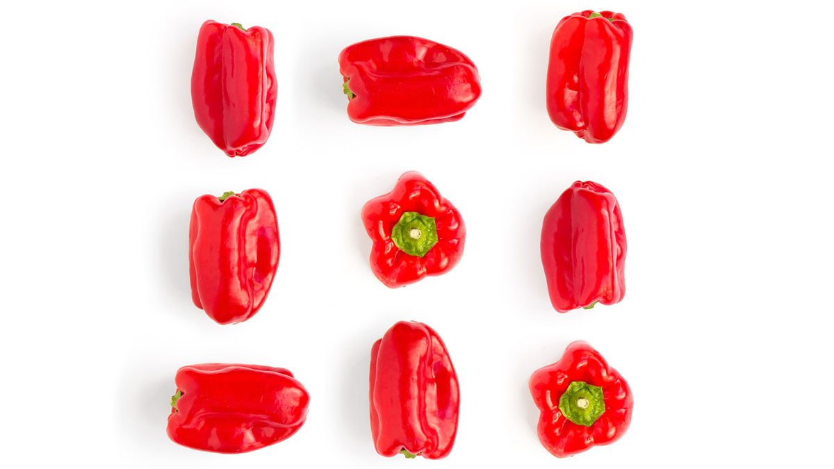 healthiest vegetables red bell peppers