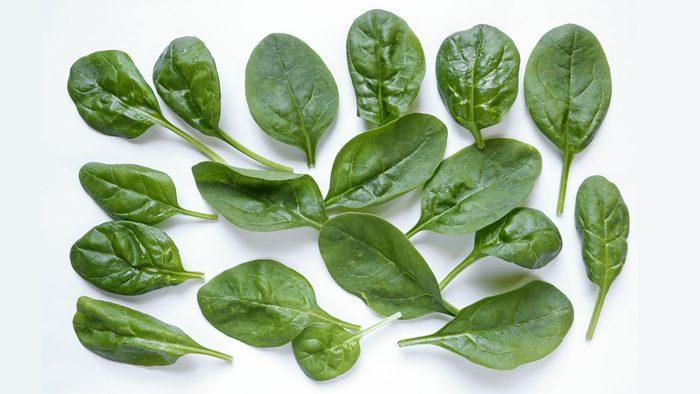 healthiest vegetables spinach