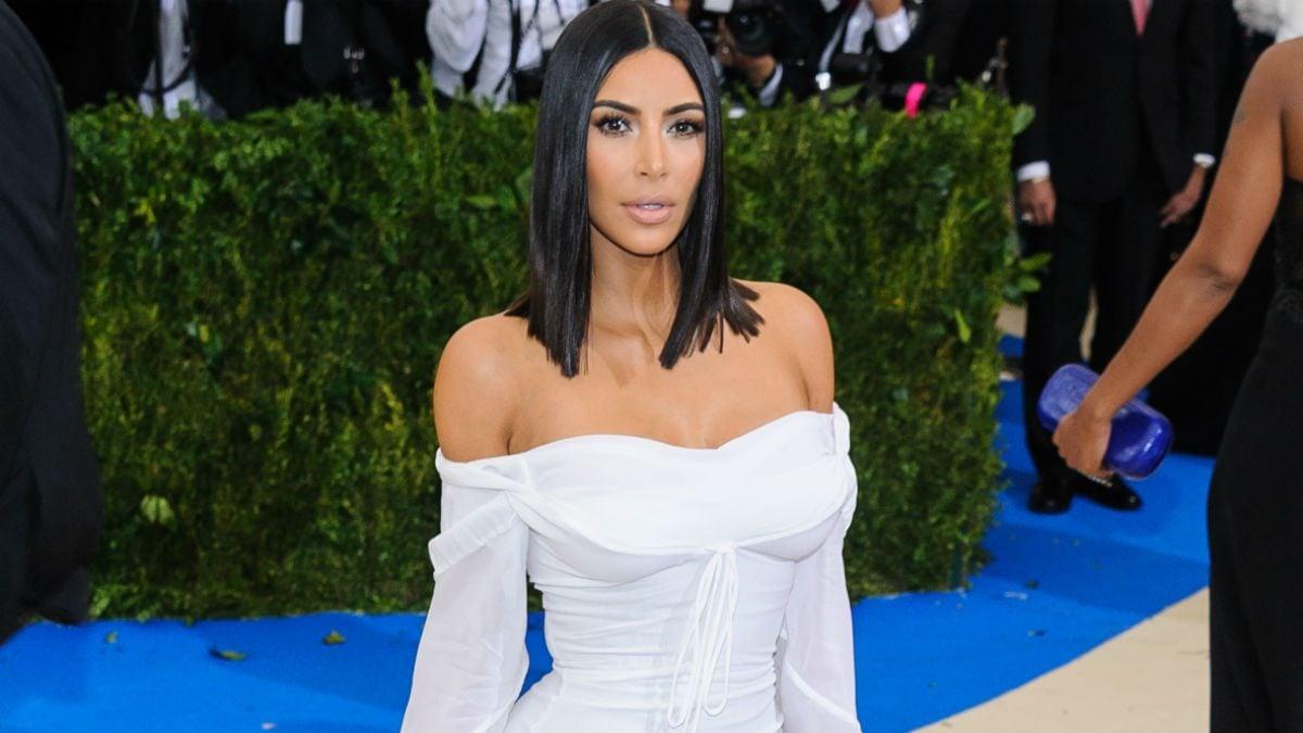 kim kardashian west body dysmorphia, Kim Kardashian on the red carpet