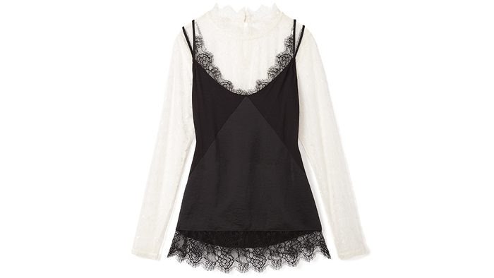 New Year's Eve Colour RW lace top