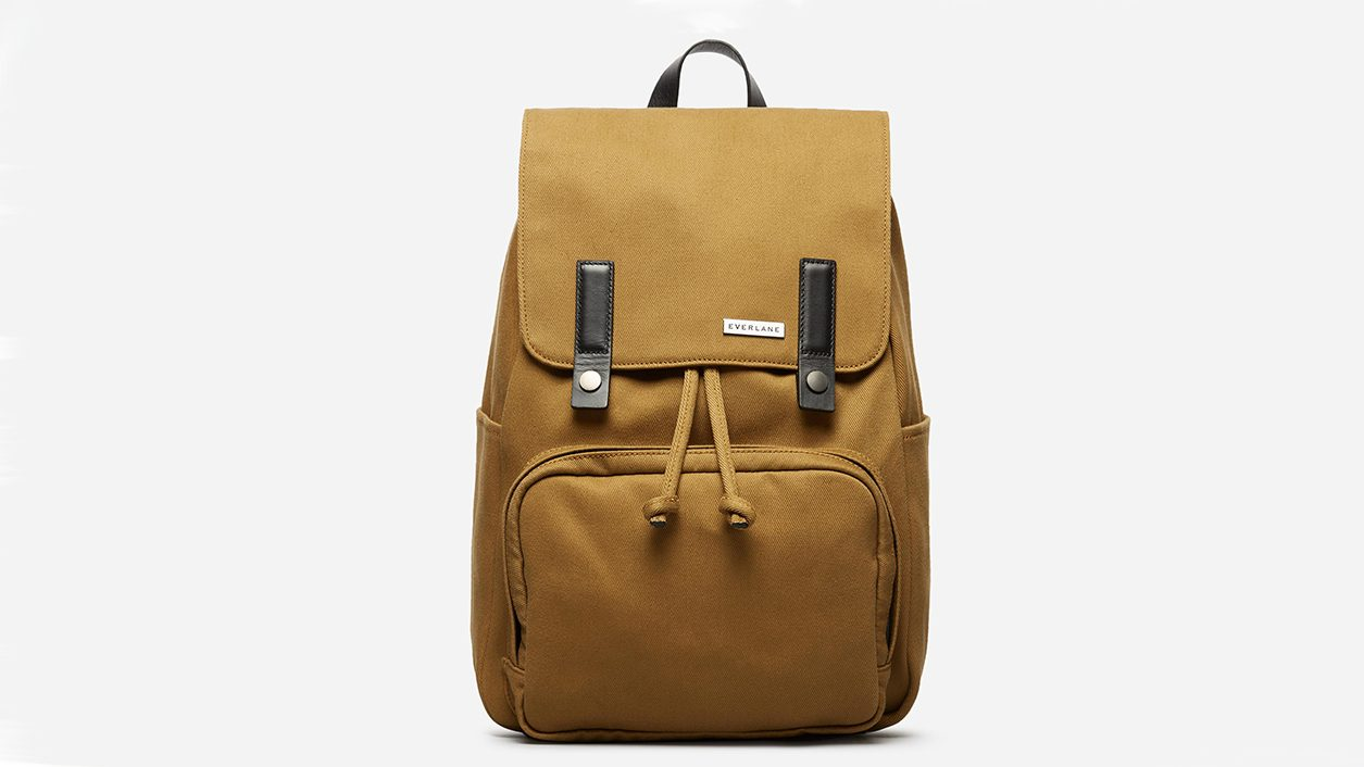 traveller gift guide Everlane backpack