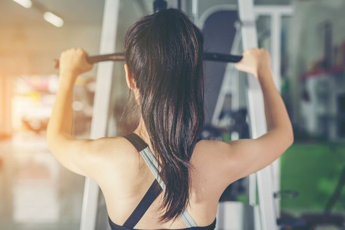working out when sick, gym equipment germs