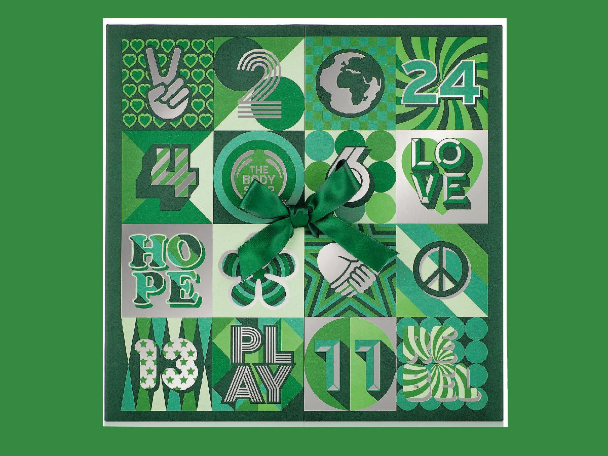 advent calendars 2017 The Body Shop