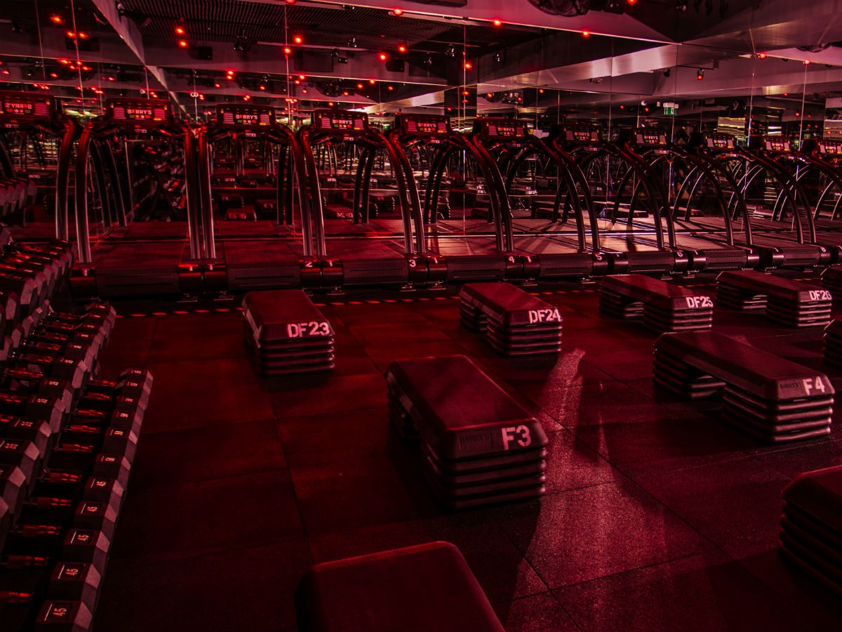 Barry's Bootcamp Toronto, inside the studio