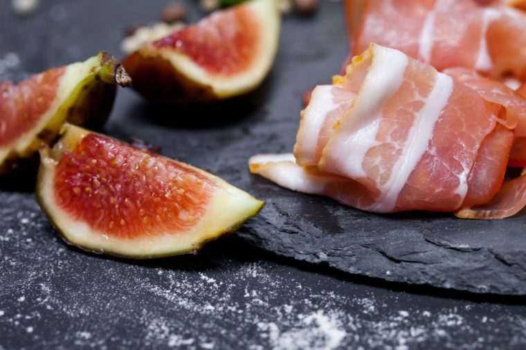 fig recipes | fig walnut prosciutto