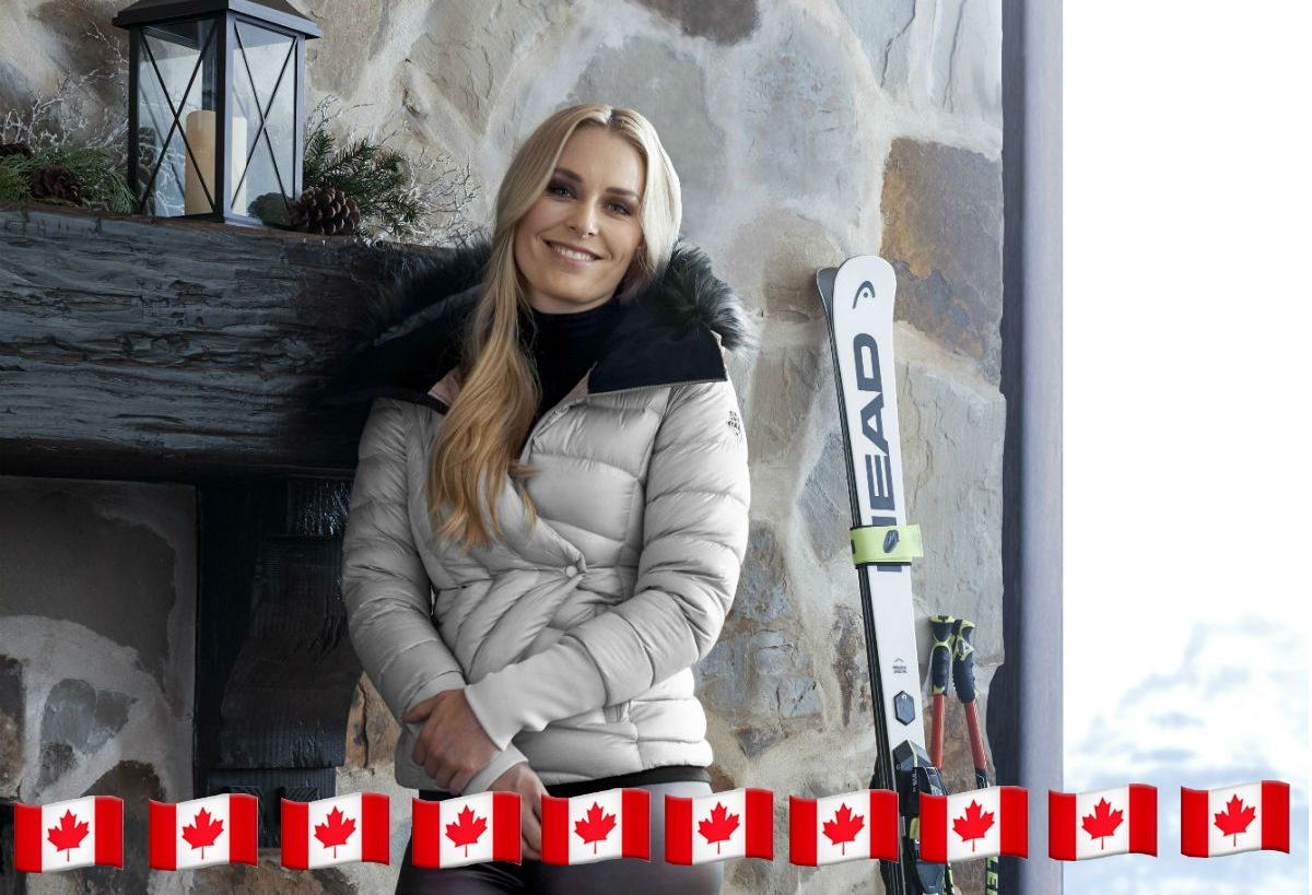 5a8acc69e2e Spot The Canadian Touches In The New Lindsey Vonn Under Armour Ski  Collection