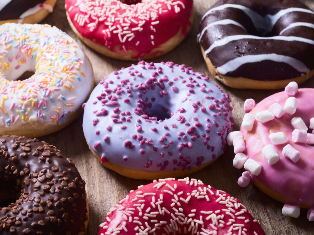 Nutrition Trends, donuts and sugar intake