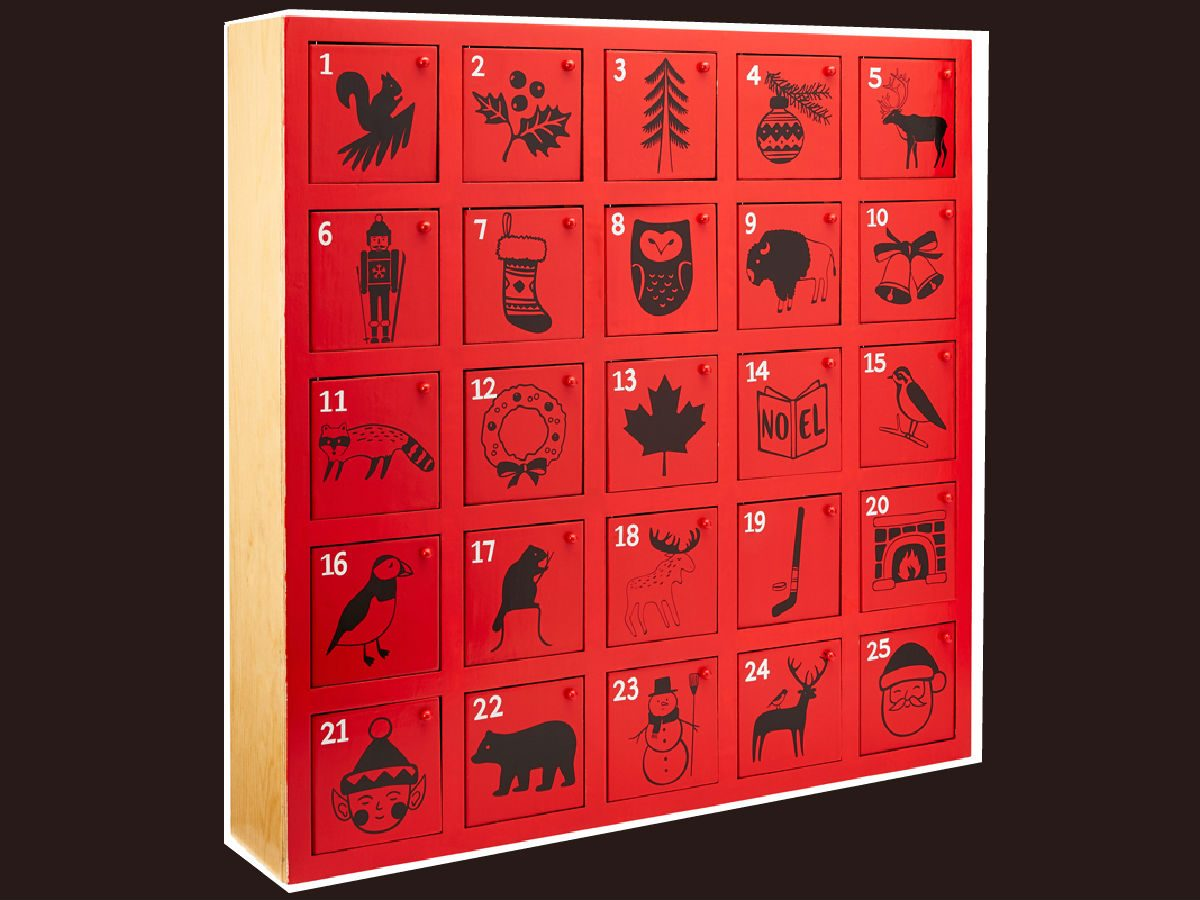 advent calendars 2017 Indigo