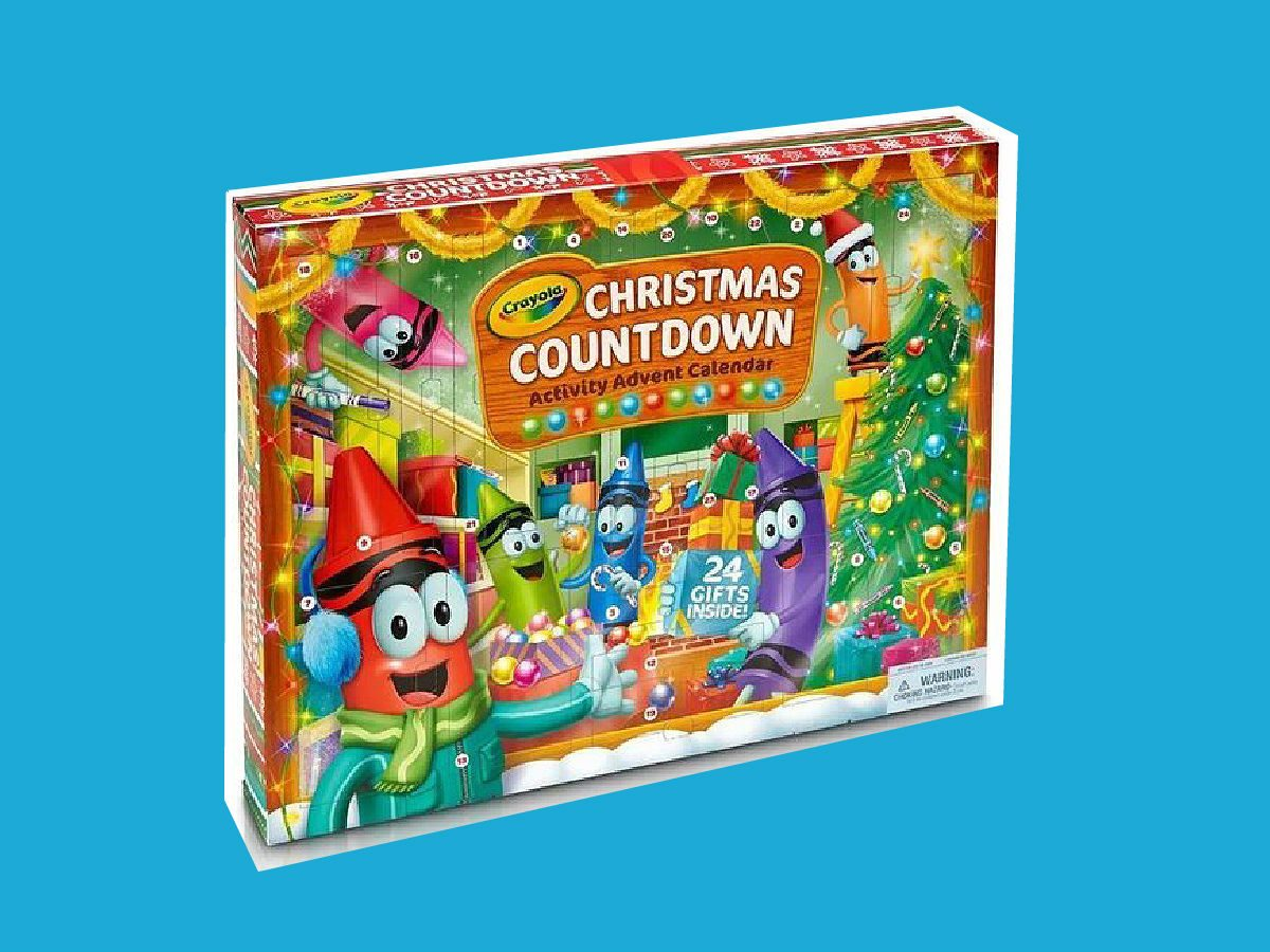 advent calendars 2017 Crayola