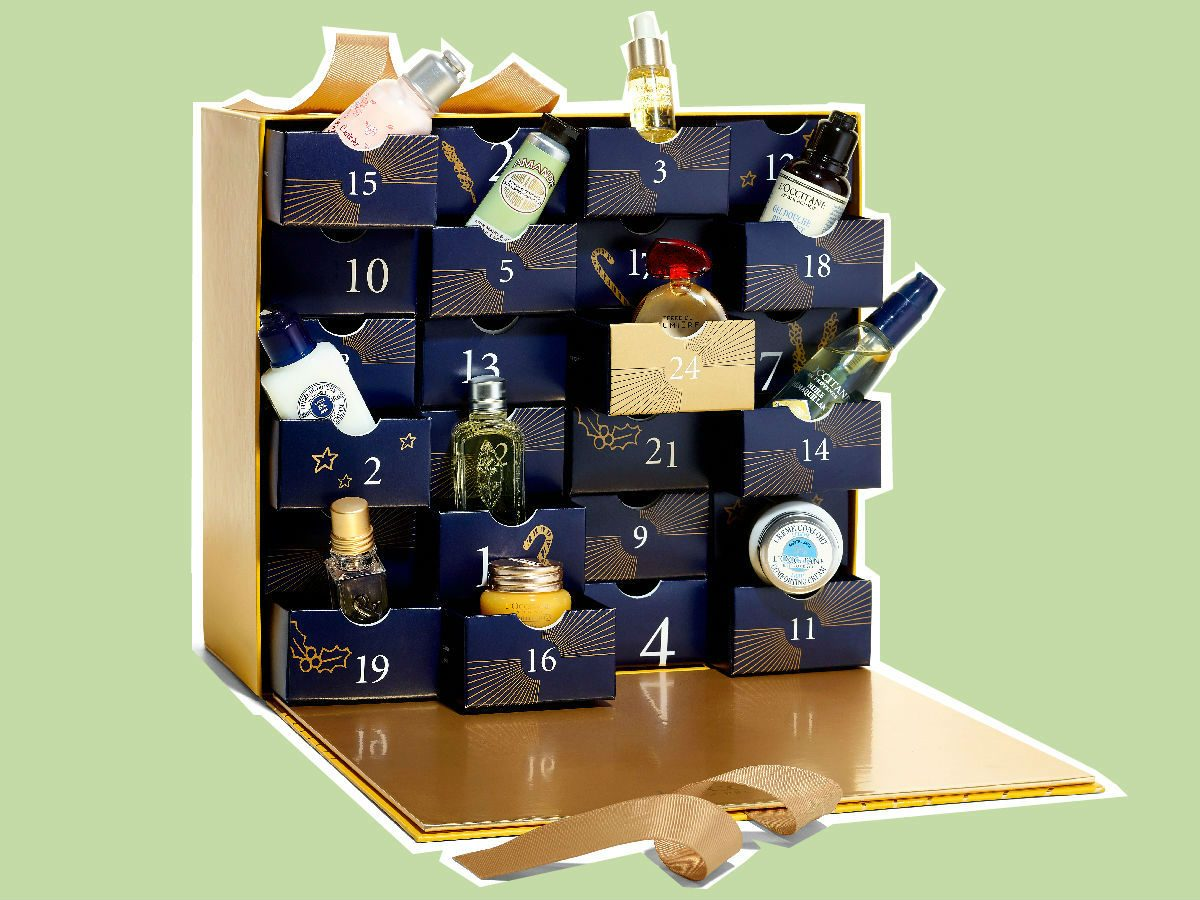 advent calendars 2017 L'occitane