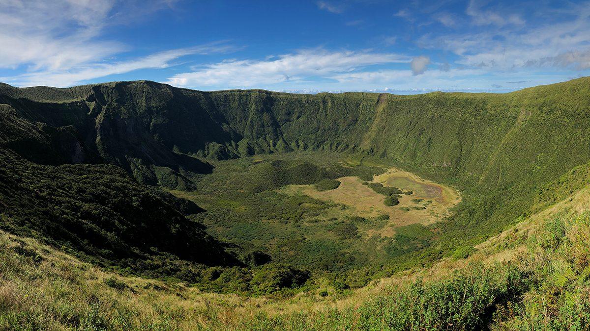 beautiful azores islands horta cedros