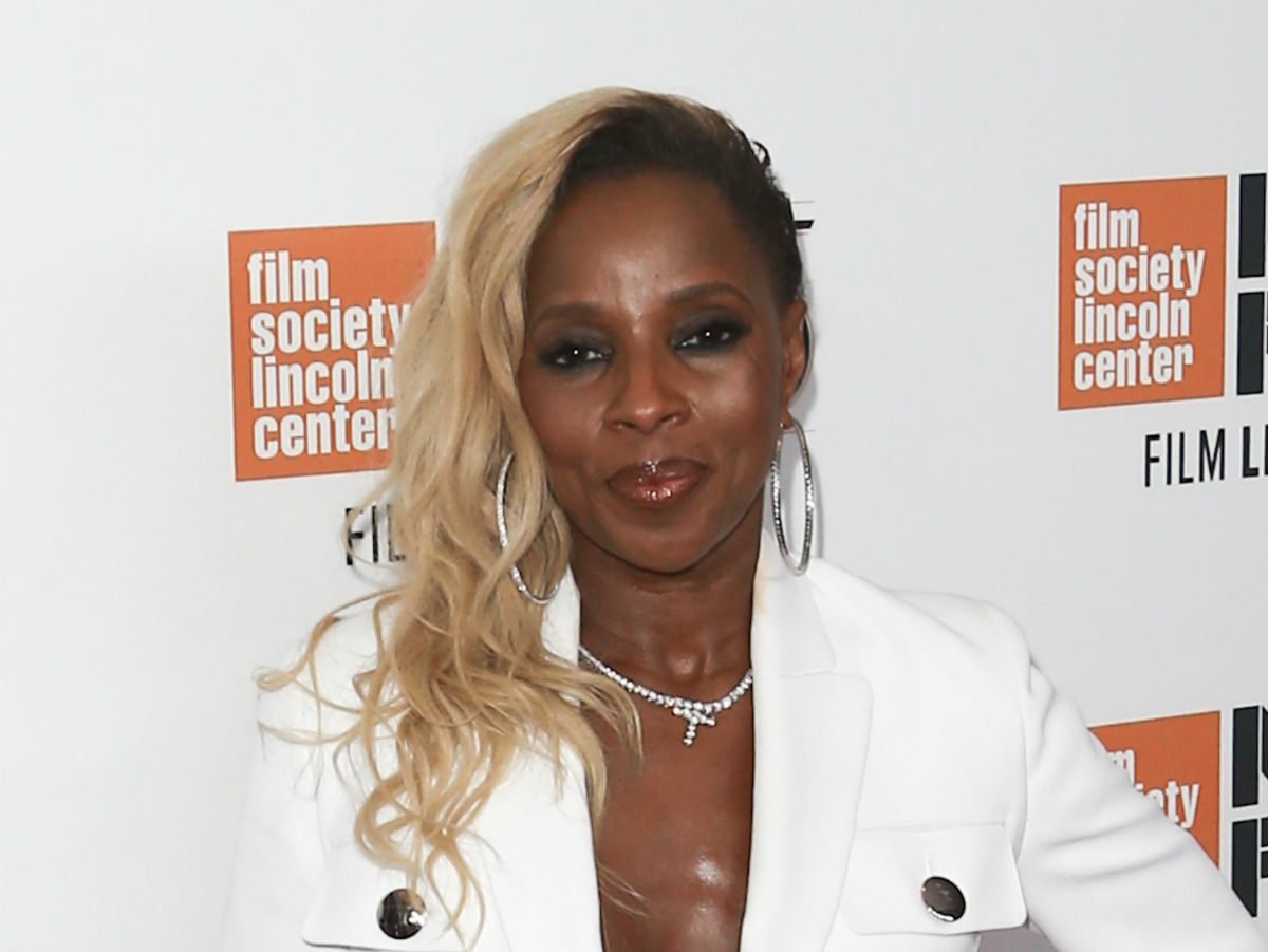 blonde celebrity inspo skintone mary j blige