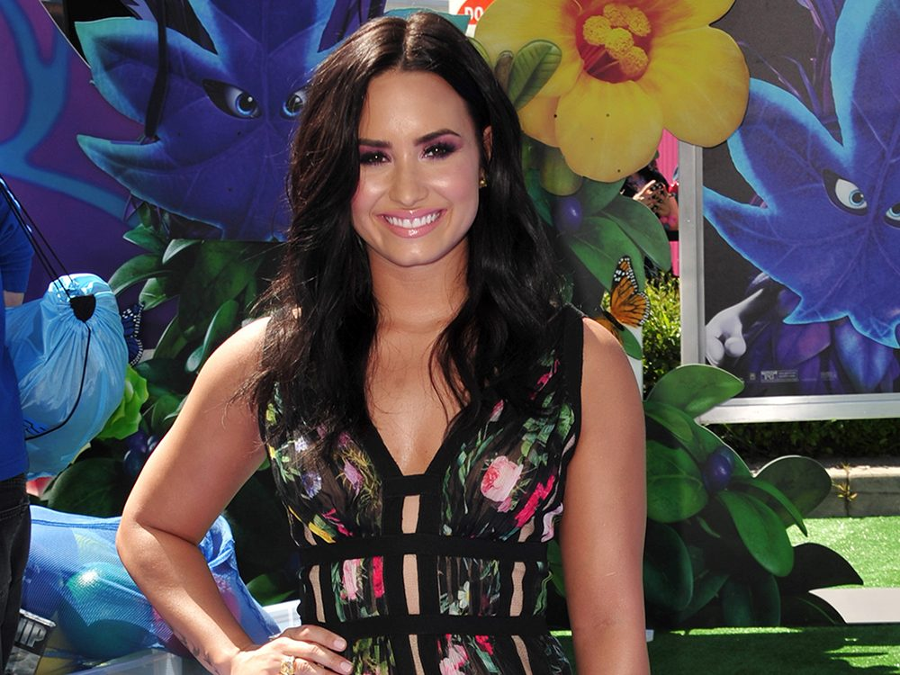 celebrities and body image demi lovato