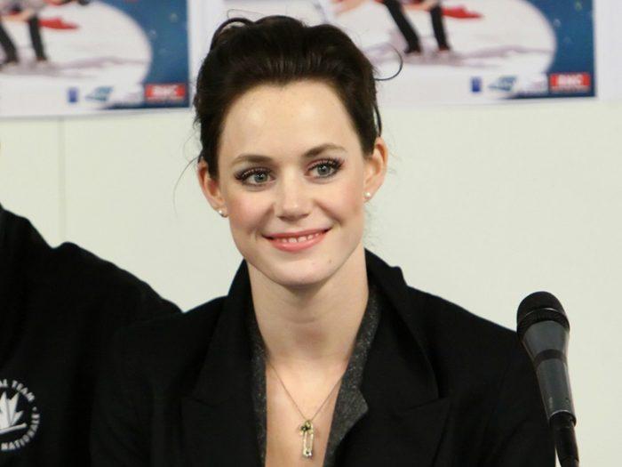 celebrities and body image, tessa virtue