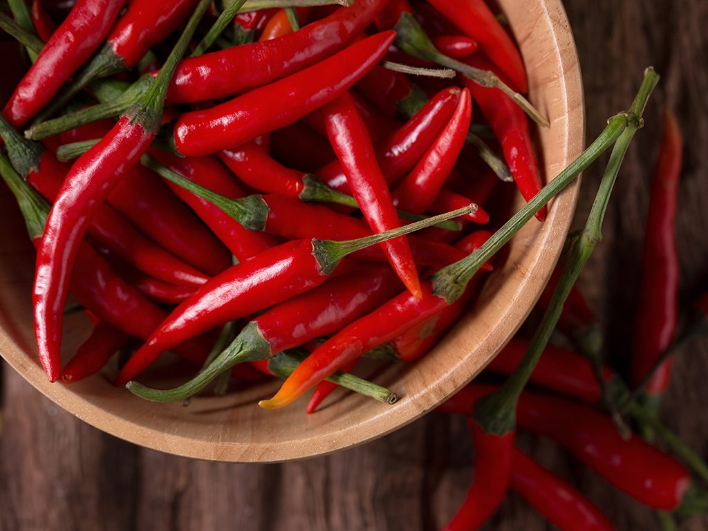 fat burning foods chili peppers