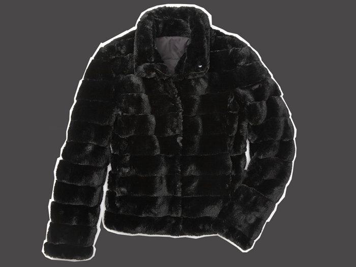 faux vur coat RWandCo Reverisble Faux Fur Jacket