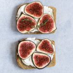 fig recipes, fig toast