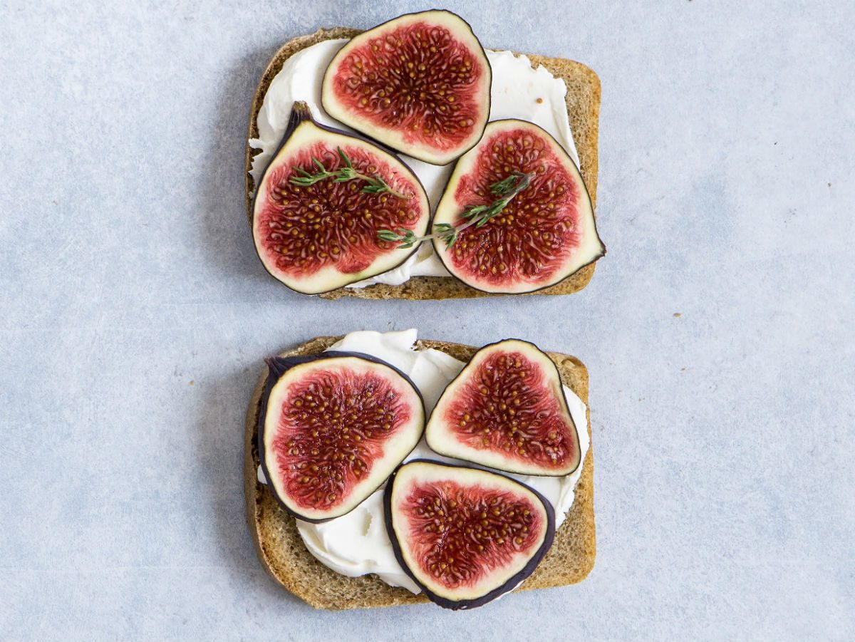 fig recipes | fig toast