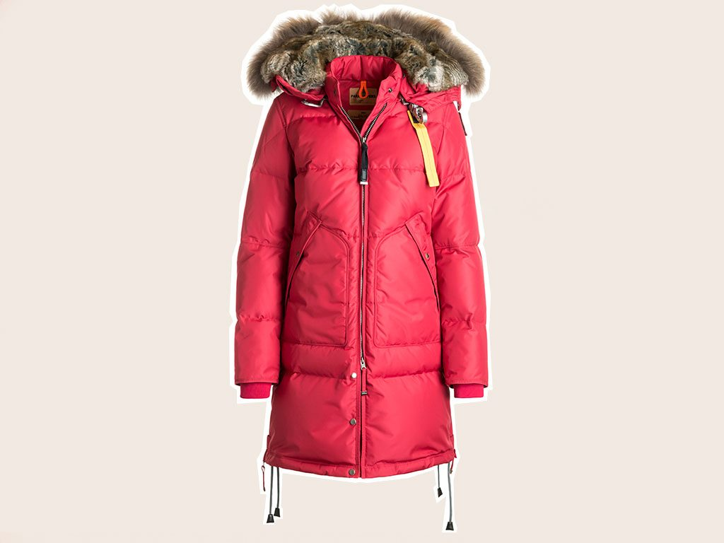 flatter long puffer coats Parajumpers Long Bear Women's Parka