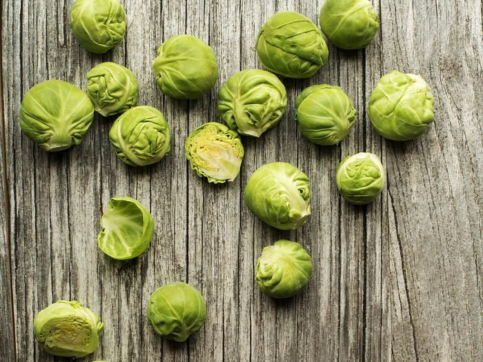 foods for great skin brussels sprouts