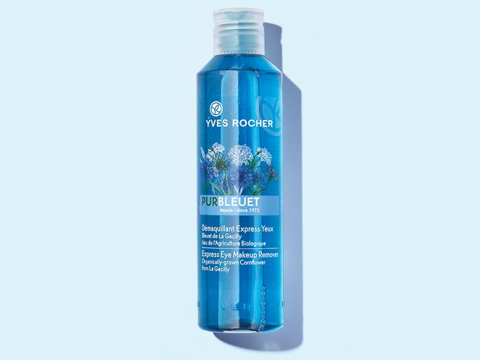 french products yves rocher Pur Bleuet Gentle Makeup Remover