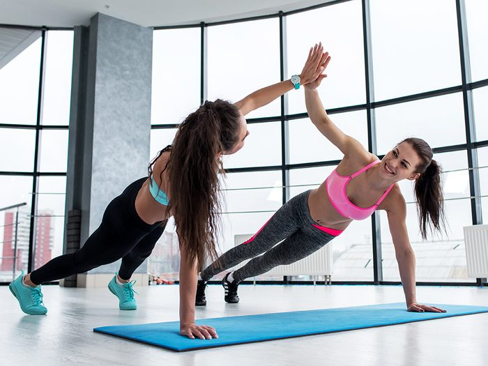 How To Stay Motivated For Your Winter Fitness Routine (2021) Grab a Workout Buddy