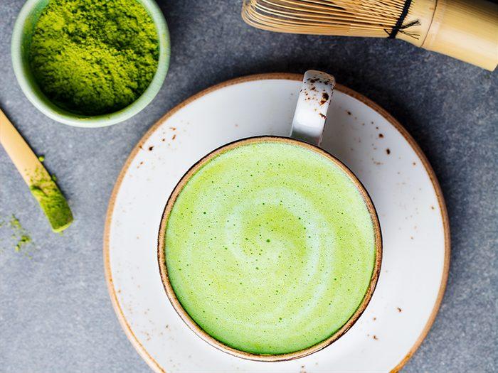 healthier coffee matcha