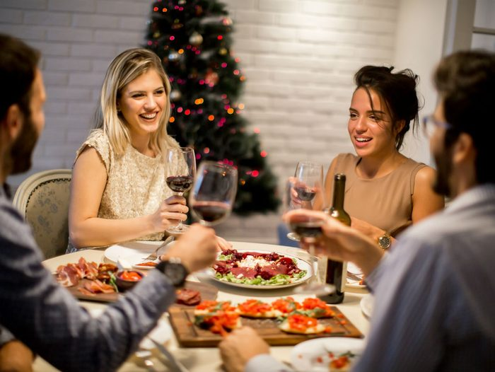 host a dinner party