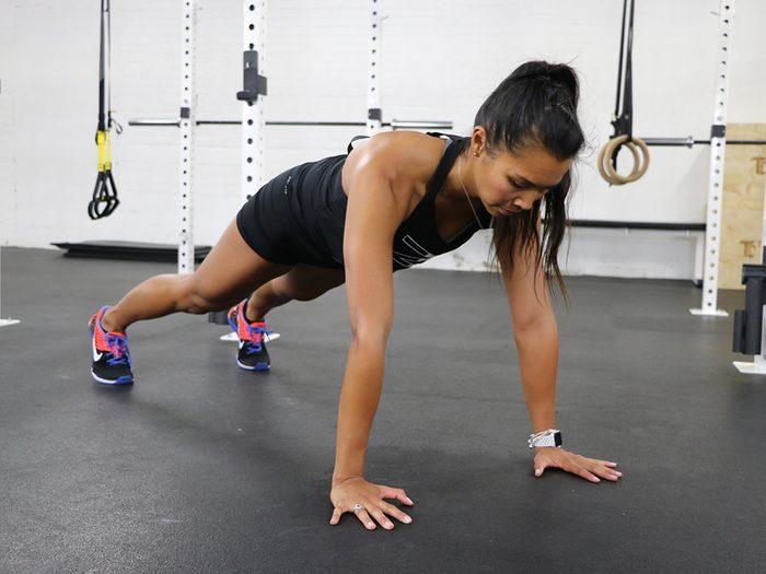 how fit am i test, push-ups test