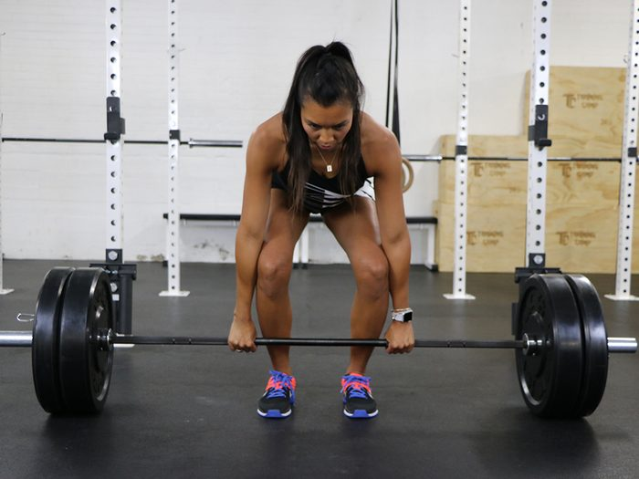 how fit am i fit test, deadlift test
