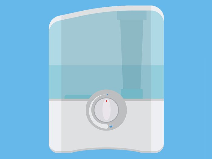 nagging cough humidifier