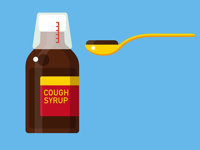 nagging cough syrup and lozenges