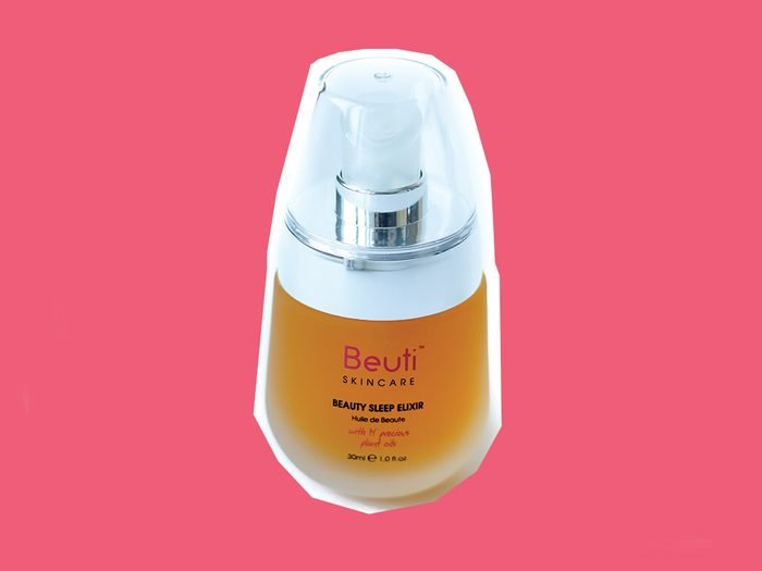 Products for redness Beuti skin care beauty sleep elixer