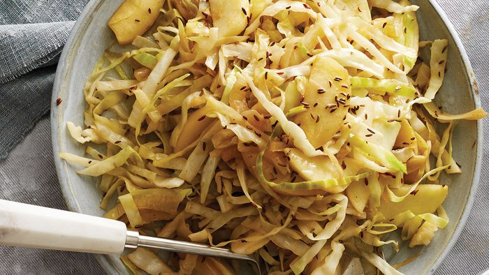 Braised Cabbage, side dish