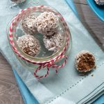 No-Bake Snowball Energy Bites
