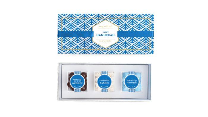 Holiday foods Sugarfina Happy Haunukkah Candy Bento Box