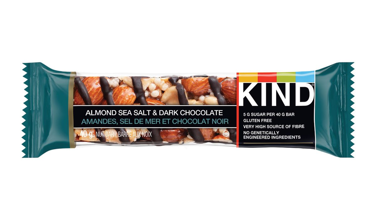 healthy food swaps Kind Bars