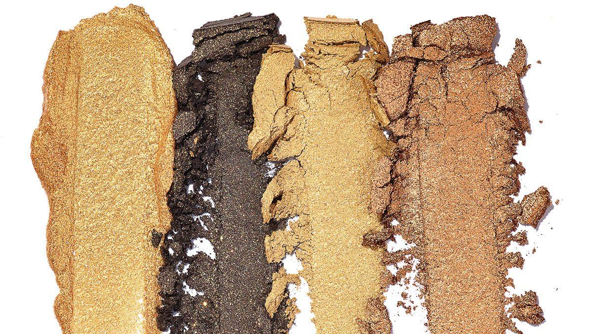Metallic Eyeshadow, Medium skin