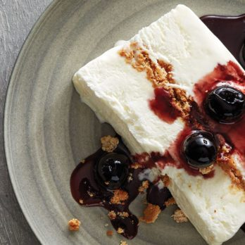 This Almond & Brandied Cherry Semifreddo Will One Up Your Fave Ice Cream